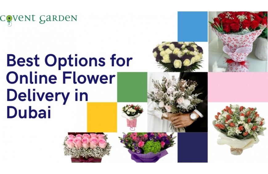 Best Options for Online Flower Delivery in Dubai